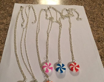 Peppermint Candy Necklaces!