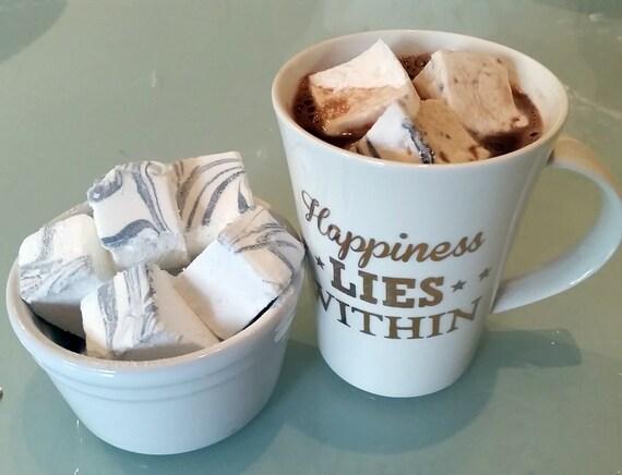 Items similar to gourmet marshmallows liquorice for Homemade gourmet marshmallows recipe