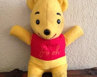 Winnie the Pooh Stuffed Animal Gund Sears Walt Disney