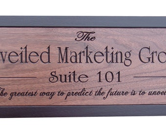 "Shop ""custom wood sign"" in Office"