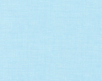 Light Blue Quilt Fabric, Timeless Treasures Fun C8224 Breeze Sketch Basic, Screen, Crosshatch, Tone on Tone LIght Blue Cotton Fabric
