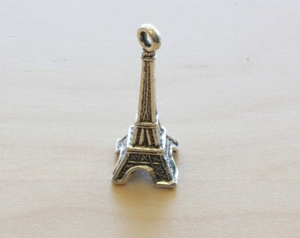 Paris Eiffel Tower Charms.