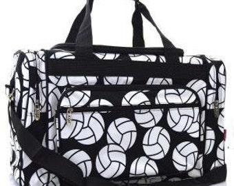 Personalized Volleyball Duffle bag, Duffle, Monogram Duffle Bag, Name or Initials, Large Duffle Bag, Gift Idea, Luggage Bag, Duffle, Sports