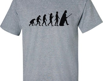Evolution Of Darth Vader Star Wars Adult T-Shirt