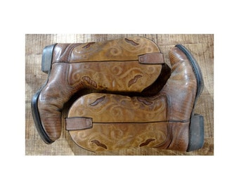VINTAGE cowboy and Western  BOOTS // size eu 37 -uk 4 - us5.5