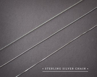 Sterling Silver Chain, Tiny Squares Chain,Ball Chain Silver,Circles Chain Silver,Upgrade Silver Chain Silver 925,Dainty Chain,Chain Necklace