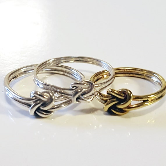 knot ring promise ring knot ring knot