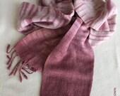 Silk Noil Madder Dyed Scarf