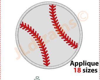 Baseball Applique Design. Baseball embroidery design. Embroidery designs baseball. Baseball applique. Baseball. Machine embroidery design