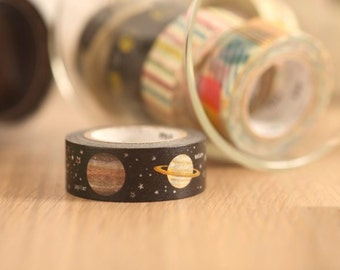 MT Washi Tape Planet Japanese Masking Tape | mt for kids  (MT01KID022)