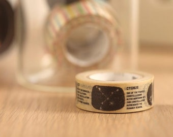 MT Washi Tape Constellation Japanese Masking Tape | mt for kids (MT01KID023)