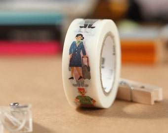 MT Washi Tape Work - Human Japanese Masking Tape | mt for kids (MT01KID016)