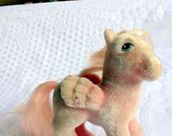 Hippity Hop My Little Pony - So Soft Pony - pink Flocked My Little Pony