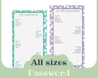 password - Printable -