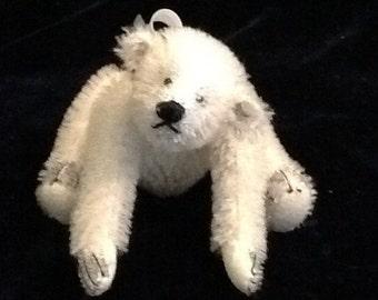 Polar Ooak miniature artist polar bear