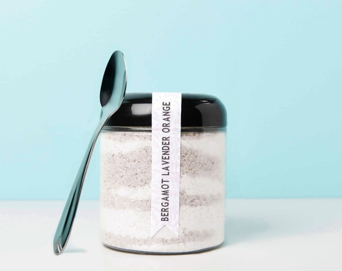 Stress Relief Bath Powder (Bergamot, Orange & Lavender)