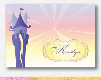 Rapunzel, Tangled Party Backdrop/Banner |  Personalised Digital file
