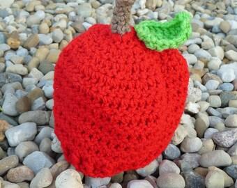 Newborn Apple Hat