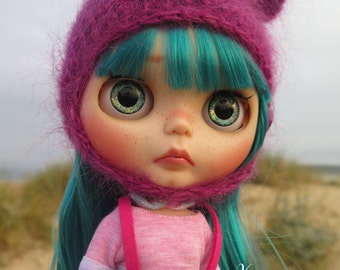 "RESERVED-OOAK Custom blythe doll- art doll,""Maitane"" by Xeiderdolls"