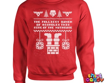 Funny Christmas Sweater Daddy Elf Sweater Daddy Sweater Ugly
