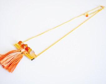 AIEVA - carnelian necklace