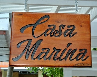 Wood Business Sign, Store Carved Wooden Signage, Company LOGO, Custom Bar Sign