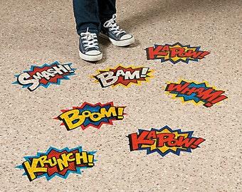 Superhero /Avengers /spider man Floor Party decorations