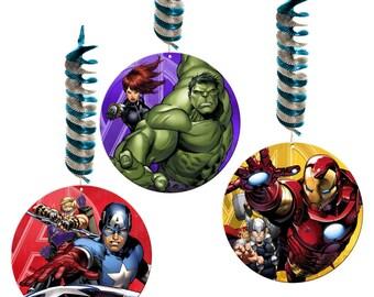 Avengers Danglers (pack of 3)
