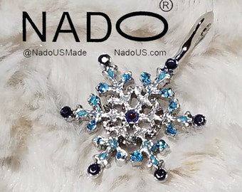 One of a kind Ice Crystal Pendant From NadoUS.com