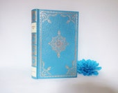 23ct Gold on Real Lambskin Luxury Edition of Mansfield Park by Jane Austen / Rare Collector's Edition / Illustrated / 1970 Heron Books