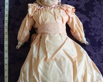 Gorgeous Antique Bisque-Head Doll