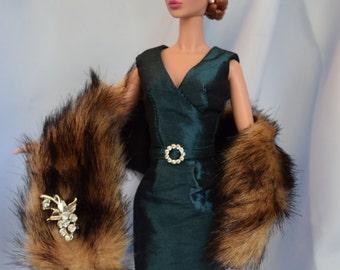 Silkstone Barbie Fashion - Green Envy (approx 65 USD)