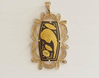 Unique Saint Mary Toledo Pendant