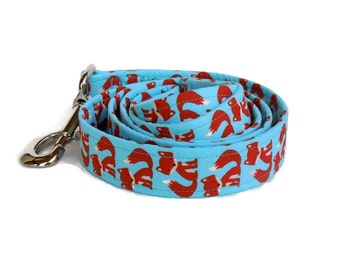 Little Red Foxes Dog Leash