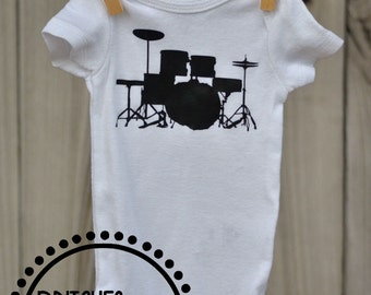 Drum Set Onesie