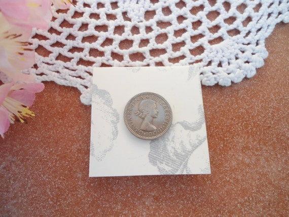 Lucky Wedding Gifts: Lucky Sixpence Silver Sixpence Bridal Gift Wedding By TansyBel