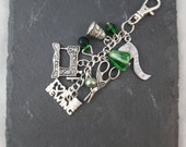 Sewing Bag Charm - sewing gift - quilter gift - gift for a sewer - mothers day gift - needlecraft gift - dressmaker gift - quilting gift