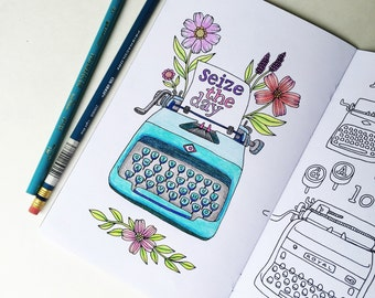 COLORING BOOK Volume 3 - Traveler's Notebook Insert available in 7 sizes