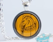 Whiterun Shield Necklace Skyrim Jewelry, gifts for gamers, geekery, cosplay, gamers, gift for boyfriend, gift for girlfriend