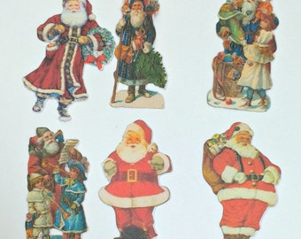 Confetti - Vintage Santa Claus,Christmas Party,Christmas Confetti,Table Confetti,Holiday Party Confetti,Christmas Die Cuts,Confetti,Santa