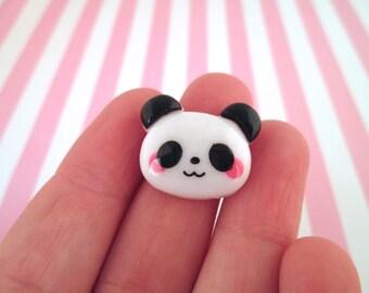Cute Panda Bear Cabochons Kawaii Pandas, #610A