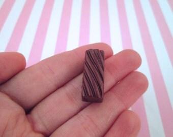 Rectangular Chocolate Candy Kawaii Decoden Cabochons,  #132b