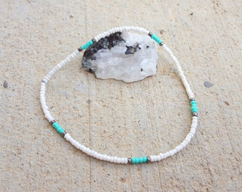 Anklet l Small Bead l Handmade