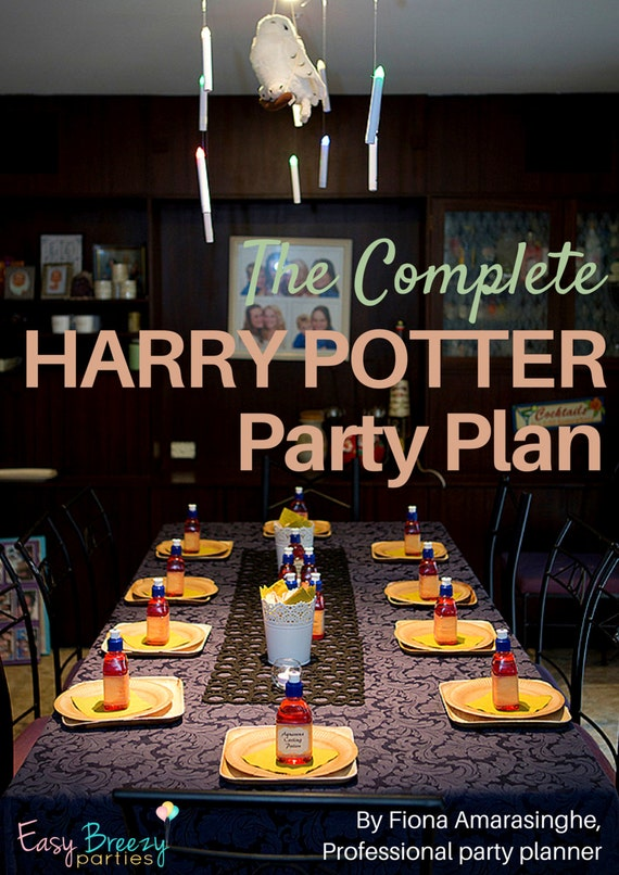 Harry Potter COMPLETE PARTY PLAN - One-stop guide to ...   570 x 806 jpeg 83kB
