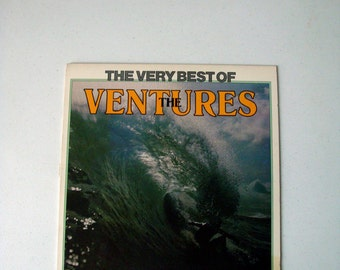 The Ventures Very Best Of The Ventures Vinyl LP 1970 Liberty Records | Surf Rock, Hod Rod Rock | Featuring Wipe Out, Hawaii Five-O, Telstar!