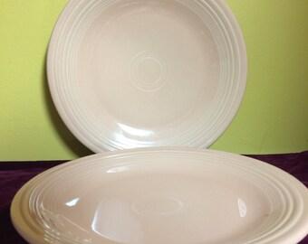 Genuine Fiesta Ware Dinner Plates Set of 2