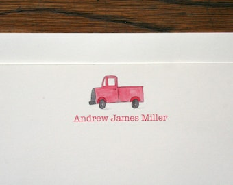 Customized Truck Stationery - set of 12 cards + envelopes