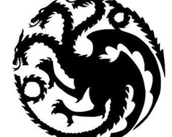 House Targaryen Decal