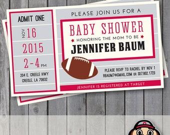 Baby Shower Ohio State Etsy