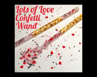 Lots of Love Confetti Wand